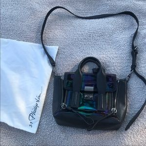 3.1 Philip Lim Pashli iridescent mini satchel